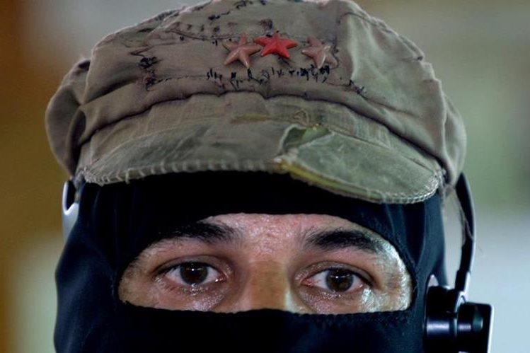 El subcomandante Marcos en una imagen fechada en el 2005. (Foto Prensa Libre: AP).