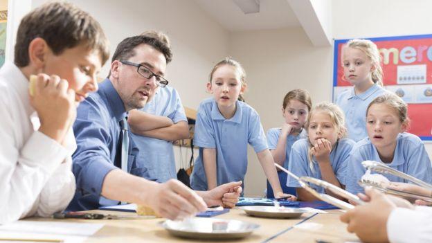 En un ambiente ameno y relajado, el aprendizaje se hace más fácil. (Foto, Getty Images)