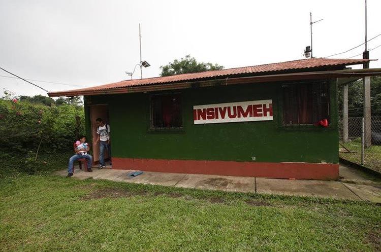 La estación del Insivumeh registra la actividad volcánica en el área del volcán de Fuego.