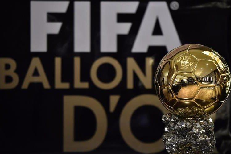 El codiciado Balón de Oro. (Foto Prensa Libre: Hemeroteca PL)