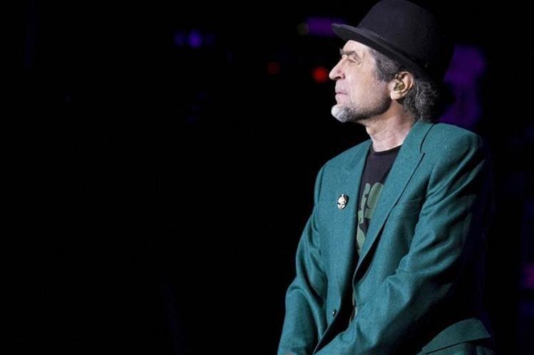 El cantante Joaquín Sabina es uno de los artistas más aclamados de la escena iberoamericana. (Foto Prensa Libre: Hemeroteca PL)