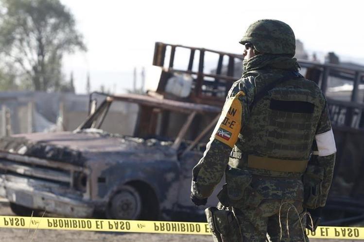 La violencia sigue en aumento en México. (Foto Prensa Libre: EFE)