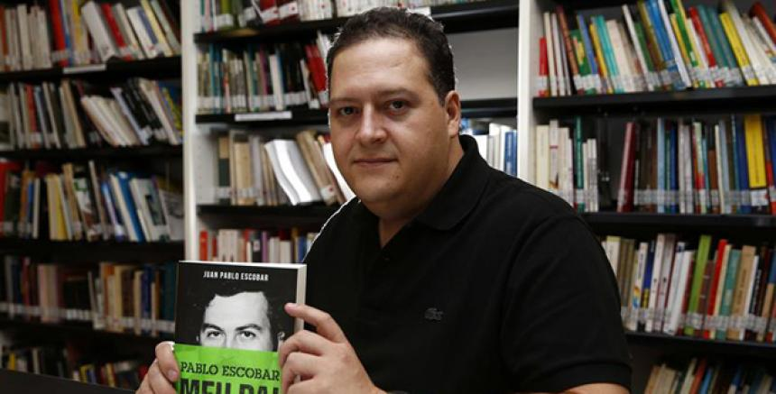 Juan Pablo Escobar, hijo del narcotraficante colombiano Pablo Escobar Gaviria, vendrá al país (Foto Prensa Libre: servicios).