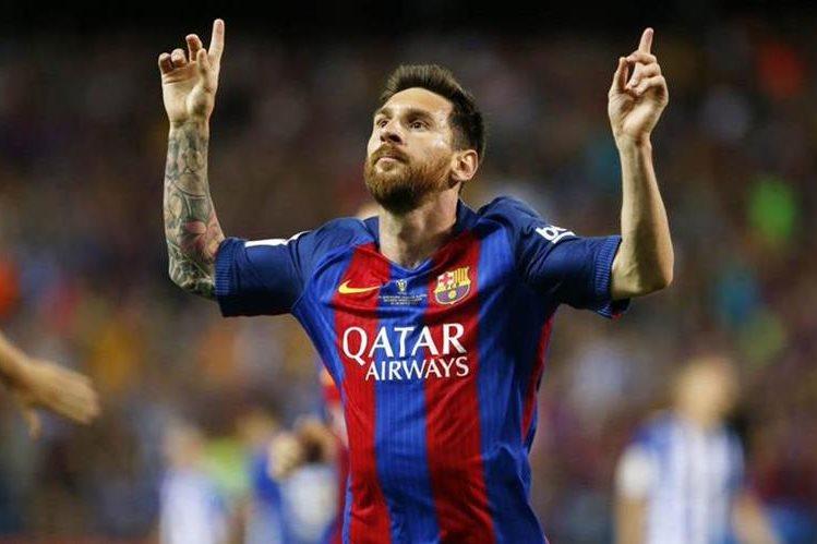 Lionel Messi continuará vistiendo la camiseta del Barcelona hasta 2021. (Foto Prensa Libre: Twitter @Barcelona_es)