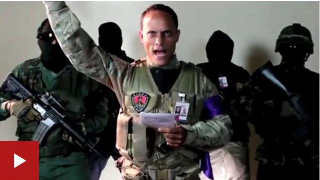 """""""Somos guerreros de Dios"""", el manifiesto que Óscar Pérez difundió antes del ataque del helicóptero del CICPC en Venezuela."""
