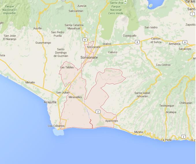 Incautan cerca de una tonelada de droga en costa de Sonsonate, El Salvador. (Foto Prensa Libre: Internet)