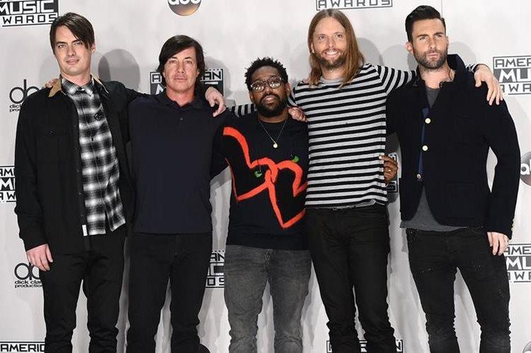 Maroon 5 cancela concierto en el país (Foto Prensa Libre: Cortesía)