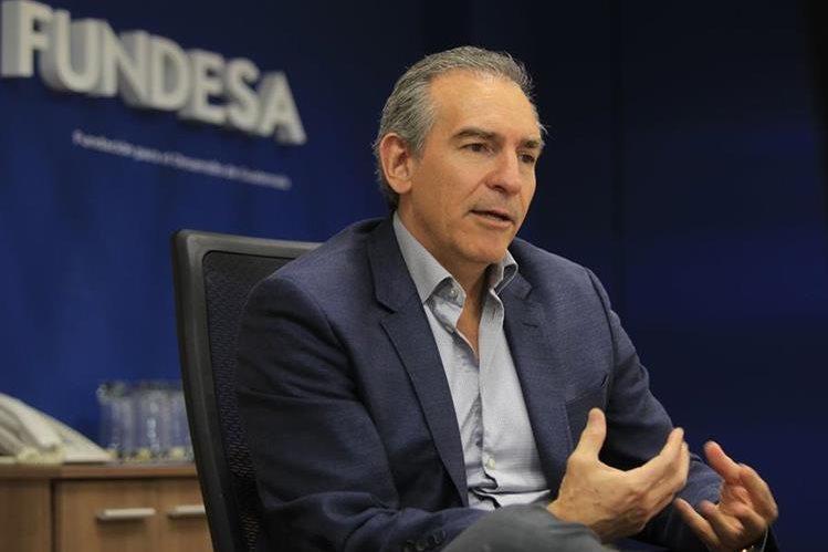 Felipe Bosch, preside Fundesa e impulsa Enade 2017 con el tema de infraestructura. (Foto Prensa Libre: Esbin García)
