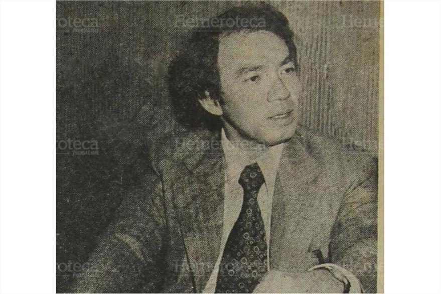 Alcalde José Angel Lee Duarte  durante una entrevista el 13/02/1978. ( Foto: Hemeroteca PL)