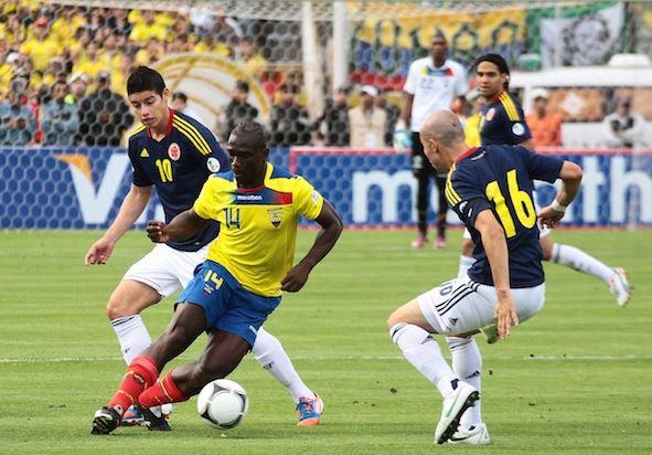 Colombia será local contra Ecuador el martes 29 en Barranquilla en el camino mundialista. (Foto Prensa Libre: Hemeroteca)