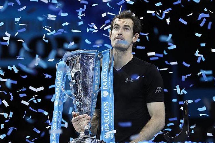 Murray se consagró como el mejor tenista del mundo al derrotar a Djokovic. (Foto Prensa Libre: AP)