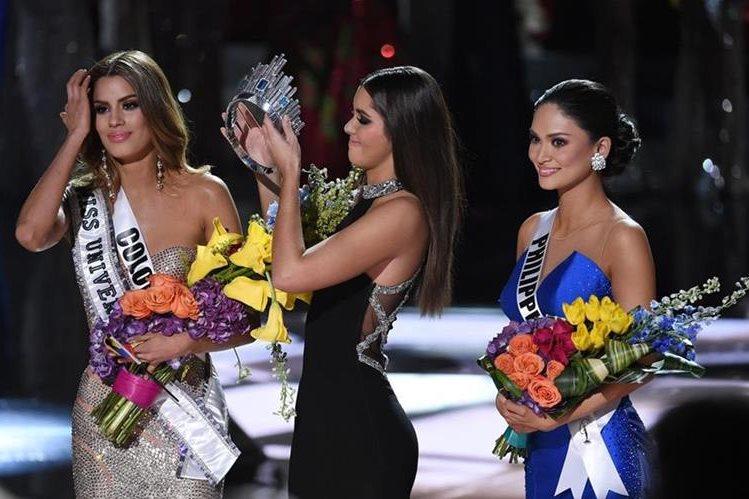 Error en el anuncio de la ganadora de Miss Universo ha causado polémica. (Foto Prensa Libre: AFP)