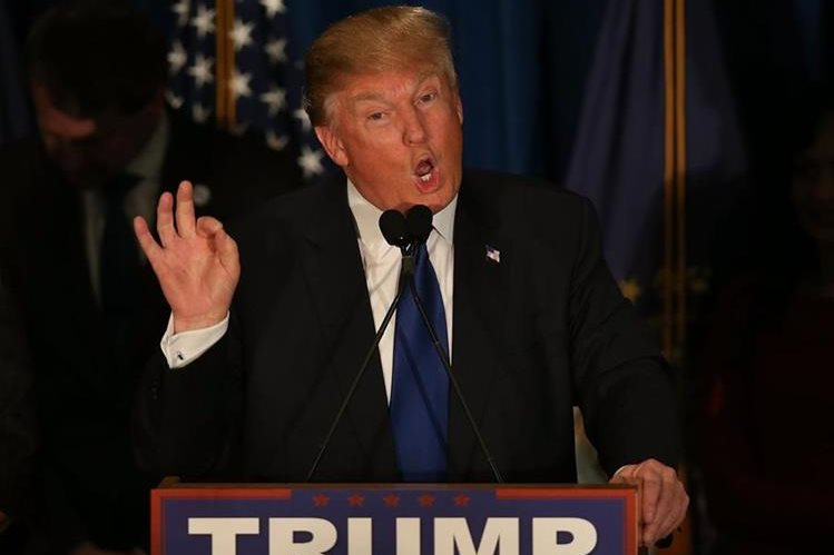 Donald Trump, precandidato republicano. (Foto Prensa Libre: AFP).