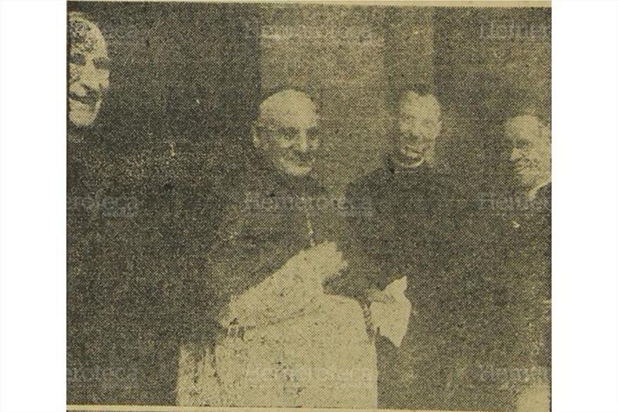 20/10/1958 Juan XXIII cuando desempeñó  su misión como Nuncio Apostólico en Francia. (Foto: Hemeroteca PL)