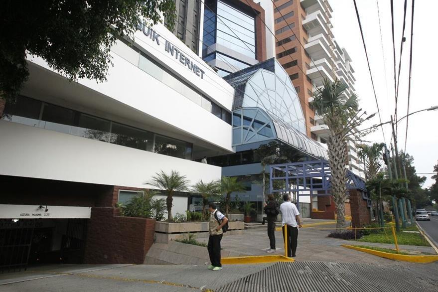 Edificio de la zona 13 donde funcionan las oficinas de Aceros de Guatemala. (Foto Prensa Libre: Paulo Raquec)