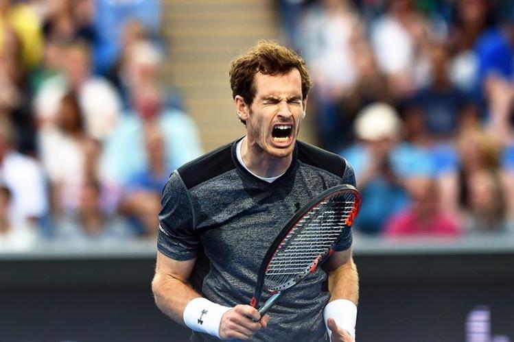 Murray dio un paso más en Australia, en busca del título. (Foto Prensa Libre: EFE)