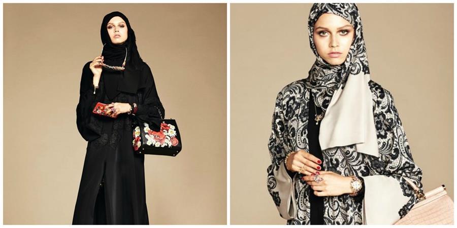 Las prendas de la colección de D&G destacan por su suntuosidad.