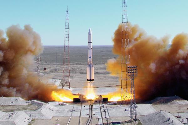 Rusia perdió un satélite mexicano durante el lanzamiento de un cohete. (Foto Prensa Libre:EFE