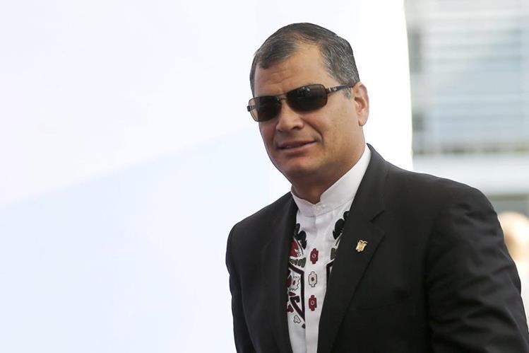 El presidente de Ecuador, Rafael Correa visita Arabia Saudita para participar en Cumbre. (Foto Prensa Libre: EFE)