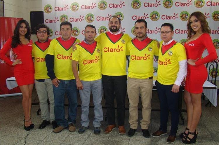 Marquense llegó a un acuerdo con un nuevo patrocinador para el torneo Apertura 2017. (Foto Prensa Libre: Whitmer Barrera)