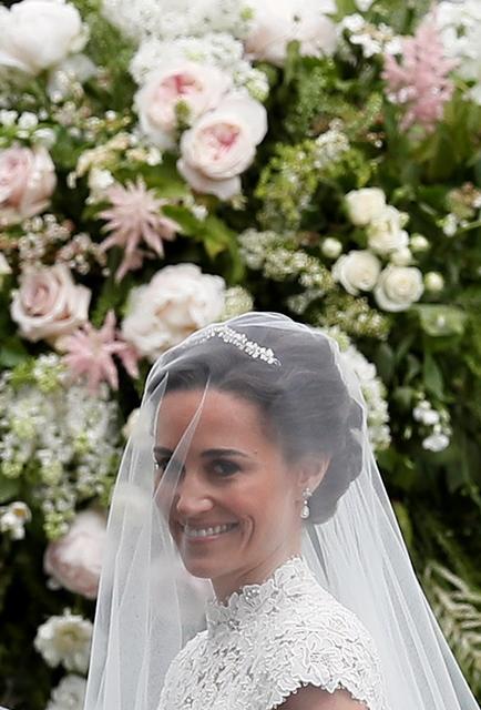 La novia. (Foto Prensa Libre: AP).