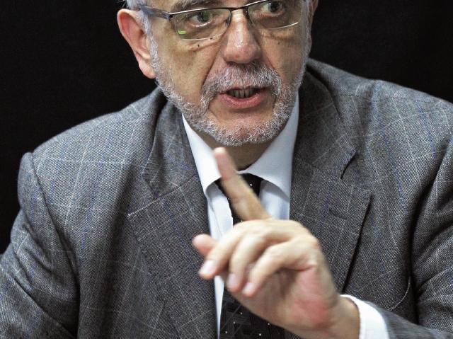El comisionado Iván Velásquez, en entrevista con Prensa Libre, el 17 de mayo recién pasado. (Foto Prensa Libre: Hemeroteca PL)