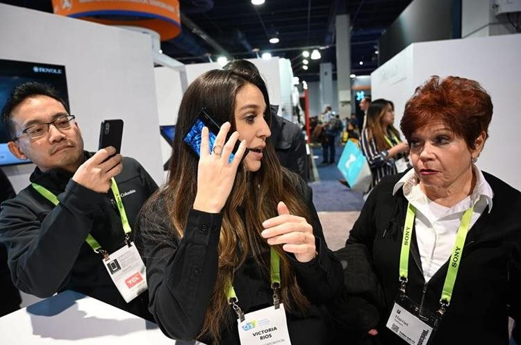 It is expected that the phone will go on sale in the coming months (Photo Prensa Libre: AFP).