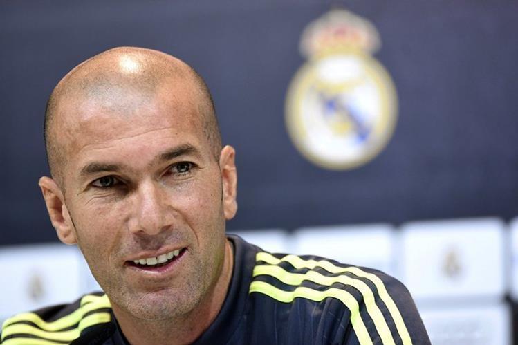 Zidane buscará ganar la Champions League y pelear La Liga. (Foto Prensa Libre: EFE)
