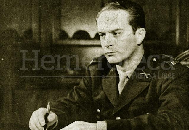 Retrato en vida del Presidente Coronel Jacobo Árbenz Guzmán. (Foto: Hemeroteca PL)