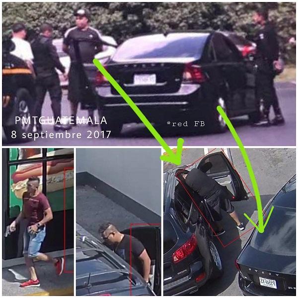 El hombre capturado es quien aparece en el video del supuesto asalto. (Foto Prensa Libre: Amílcar Montejo)