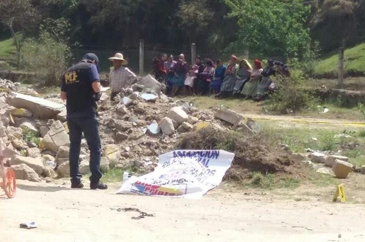 Gómez Vail había desaparecido desde el pasado martes en San Juan Ostuncalco. (Foto Prensa Libre: Fred Rivera)