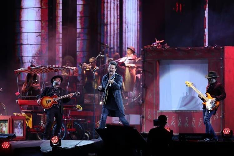 Ricardo Arjona, durante uno de sus conciertos en Guatemala. (Foto: Hemeroteca PL)