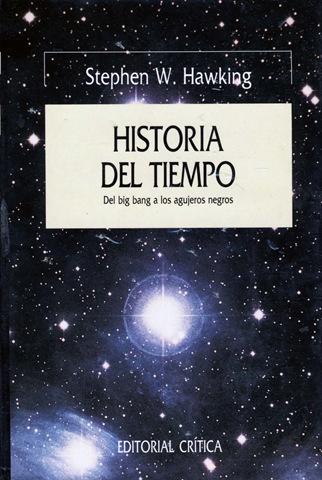 """Portada del libro """"Una historia del tiempo"""". (Foto: Hemeroteca PL)."""