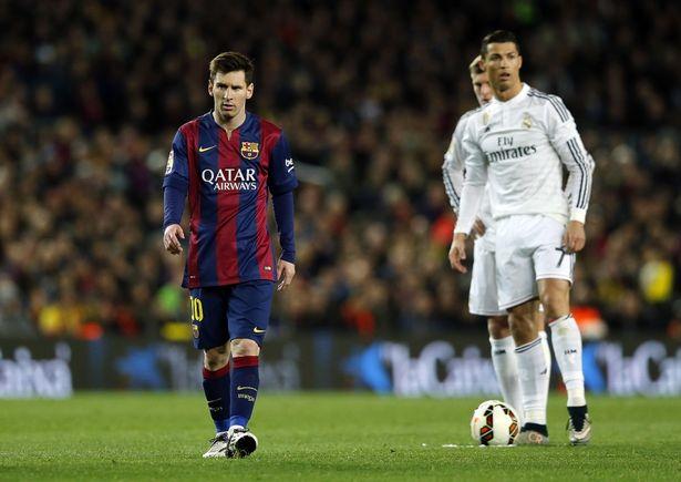 Lionel Messi y Cristiano Ronaldo se verán las caras en el clásico español del próximo sábado. (Foto Prensa Libre: Hemeroteca)