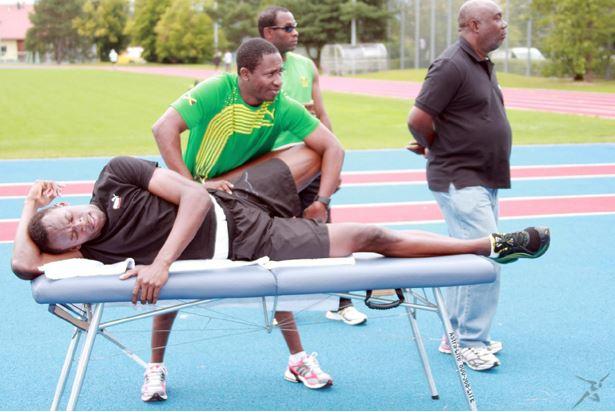 Bolt sufre una lesión en el muslo agravada, según el entrenador. (Foto redes sociales).