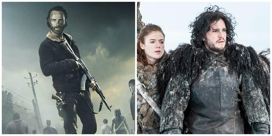"""Según el sitio TorrentFreak, """"Game of Thrones"""" y """"The walking dead"""" fueron las series con más descargas ilegales en el 2015."""