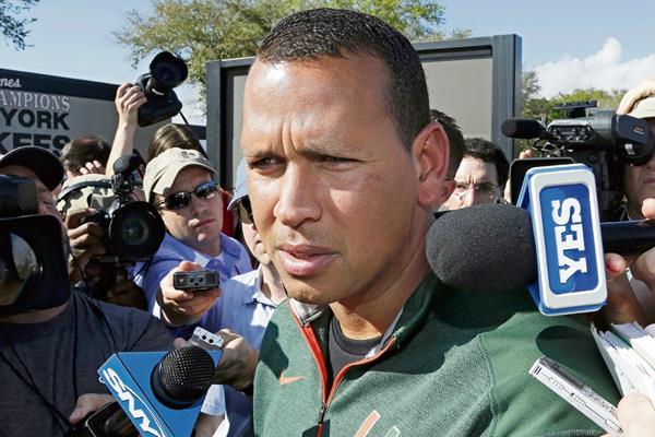 Alex Rodríguez vuelve a los Yanquis de Nueva York. (Foto Prensa Libre: AP)