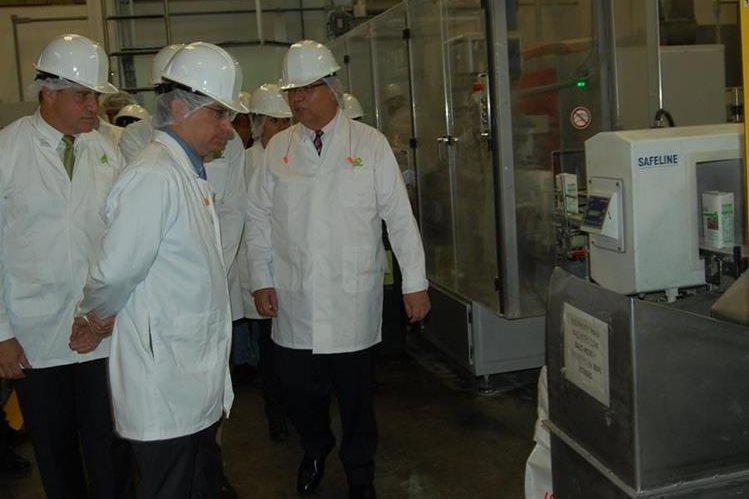 Nueva planta incrementará producción de harina de maíz. (Foto Prensa Libre: Víctor Hugo Chamalé)