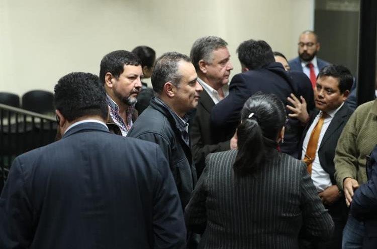 Mario Baldetti, hermano de Roxana, fue condenado a 13 años de cárcel. (Foto Prensa Libre: Esbin García)
