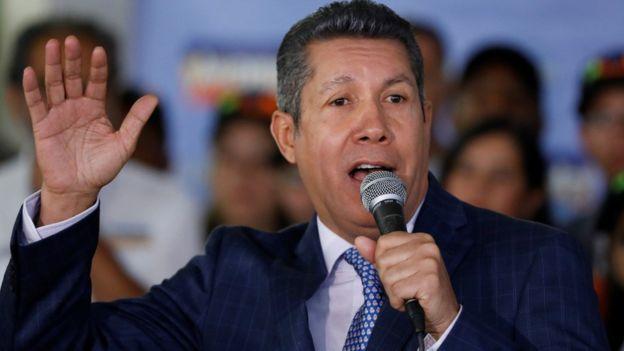 Henri Falcón es uno de los mejores posicionados para ser el candidato de la oposición aunque anima a lanzarse a Lorenzo Mendoza. REUTERS