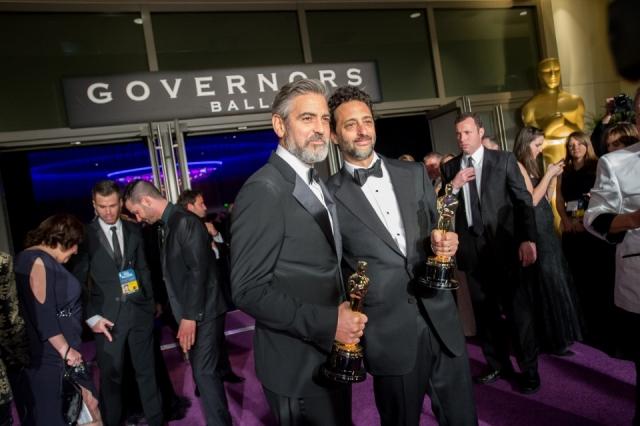 Para la reunión en el Governors Ball los ganadores reciben la estatuilla con su nombre grabado. (Foto Prensa Libre: Hemeroteca PL)