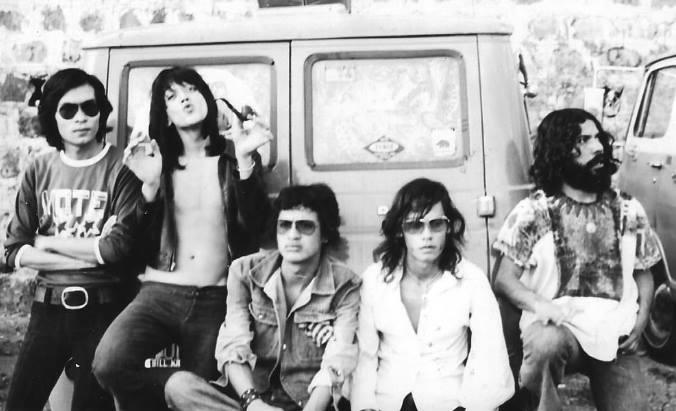 La banda nacional Plástico Pesado se fundó en 1972. (Foto Prensa Libre: Cortesía Plástico Pesado)