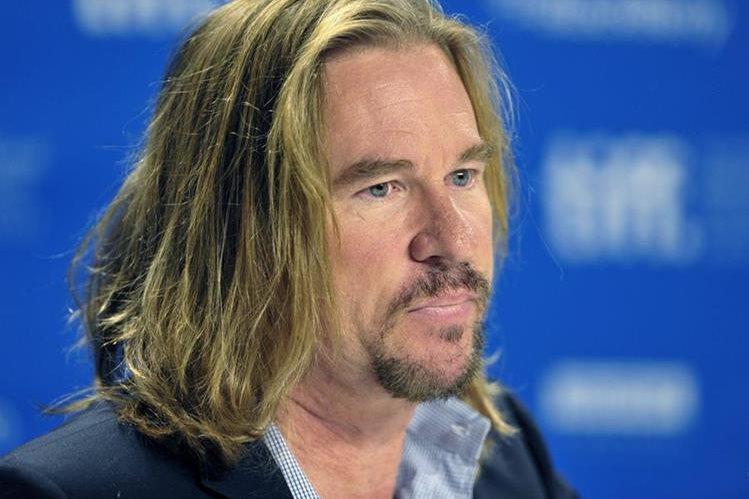 Val Kilmer dice que no tiene cáncer. (Foto Prensa Libre: EFE)