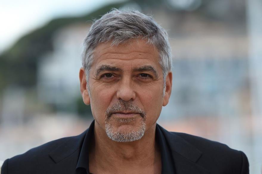El actor norteamericano George Clooney afirma que la popularidad de Donald Trump es culpa de los medios. (Foto Prensa Libre: AFP)