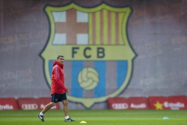 El Barcelona vuelve a la competencia este sábado contra el Atlético de Madrid. (Foto Prensa Libre: AFP)