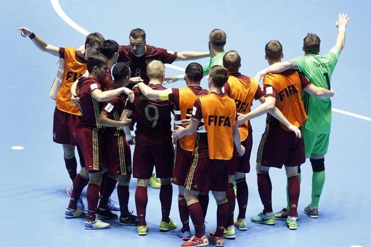 Los jugadores de la Selección de Rusia, darán todo para llegar a la final. (Foto Prensa Libre: EFE)