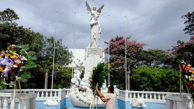 El gran orgullo de Nicaragua es un poeta: Rubén Darío. AFP
