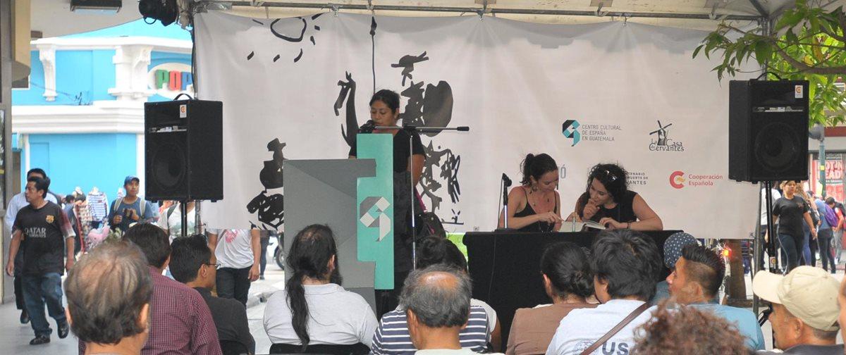 La actividad se realiza en el Paseo de la Sexta, en la zona 1 capitalina. (Foto Prensa Libre: Ana Lucía Ola)
