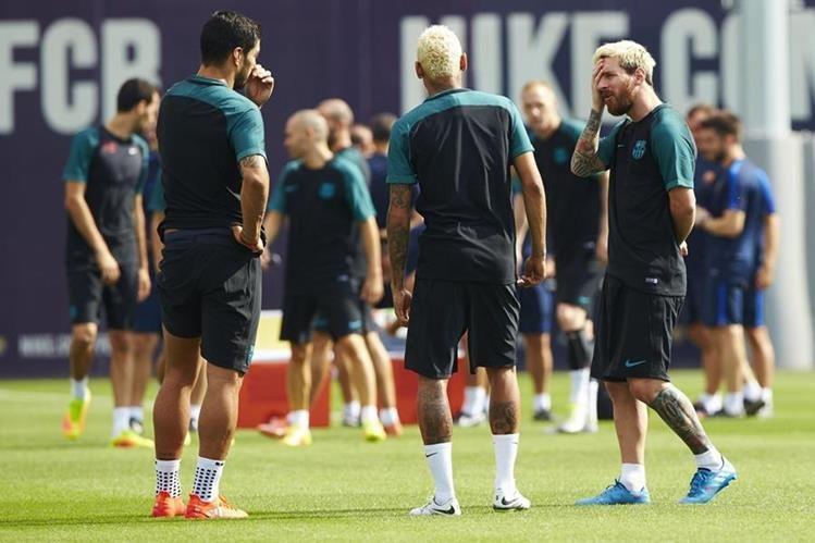 Barcelona saldrá con sus mejores armas en el duelo frente al Celtic. (Foto Prensa Libre: EFE)