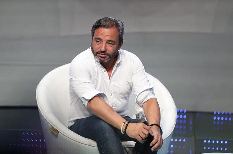 Marcos Llunas, padre de Izan, es hijo del cantante español Dyango (Foto Prensa Libre: José A. Ochoa).